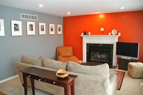 Grey Orange Living Room Mine Pinterest Living