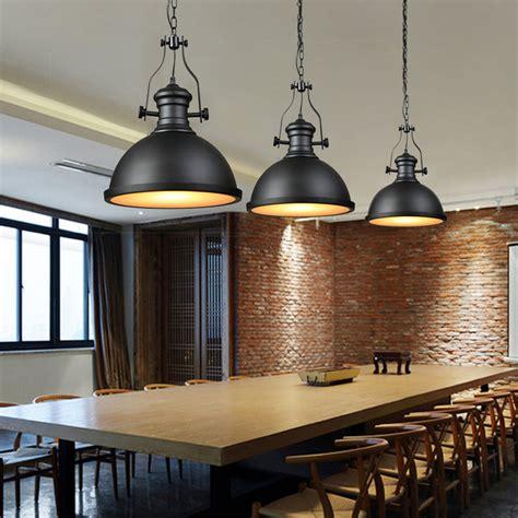 nordic industrial loft lampara colgante vintage steam punk