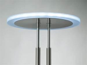 Büro Stehlampe Led : fischer dimmbarer design led deckenfluter mit leselampe stehlampe samsung led ebay ~ Markanthonyermac.com Haus und Dekorationen