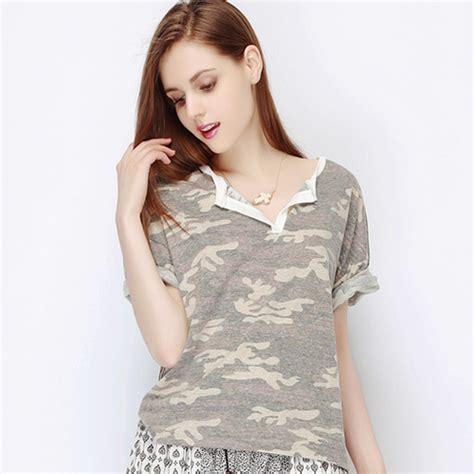 storets vintage camouflage top kstylick latest