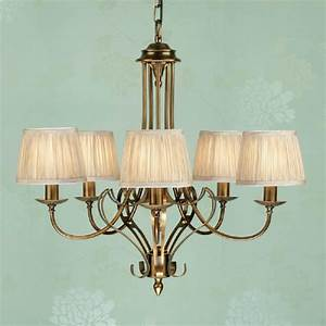 Traditional light antique brass ceiling pendant