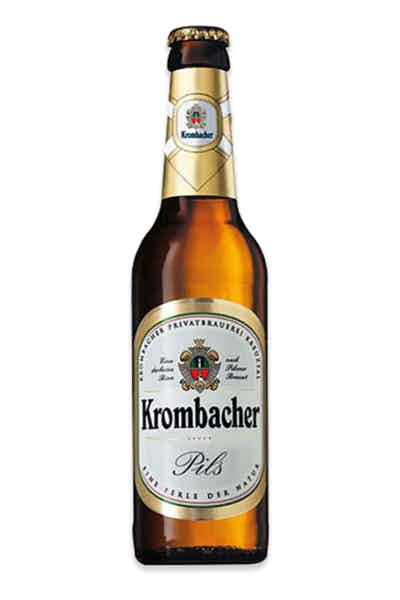 Krombacher Pils Price & Reviews | Drizly