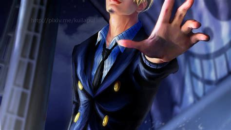 piece sanji wallpapers wallpaper cave