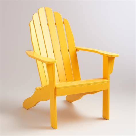 golden rod adirondack chair world market