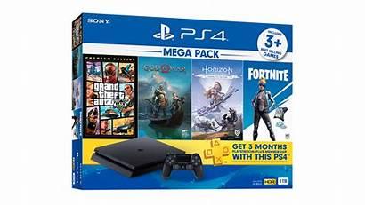 Pack Mega Ps4 Playstation Slim Bundle 1tb