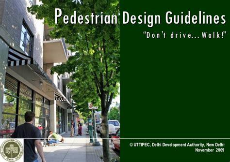 pedestrian guidelines  nov