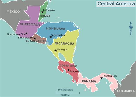 filemap  central americapng wikimedia commons