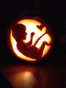 Werewolf Pumpkin Stencil Free by Baby Pumpkin Carving To Celebrate My Pregnancy Tiny