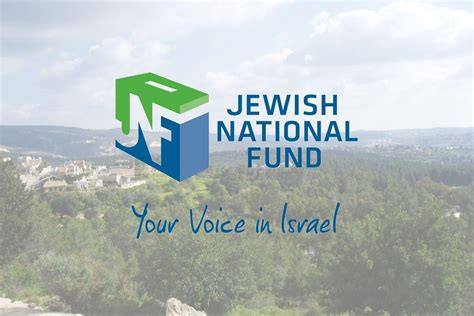 Jewish National Fund Confirms Grants To West Bank