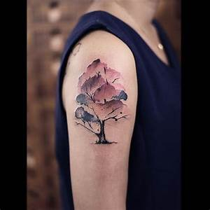 Watercolor Tree Tattoo | WATERCOLOR TATTOOS | Pinterest ...