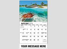 Scenes of Mexico SpanishEnglish 65¢ Promo Calendars
