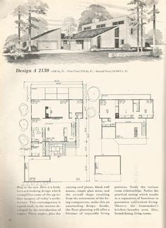kitchen layout design vintage house plans mid century homes 1960s homes almost 2130