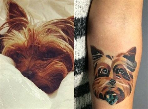coolest yorkshire terrier tattoo designs   world