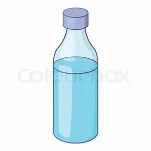 Bottle icon. Cartoon illustration of bottle vector icon ...