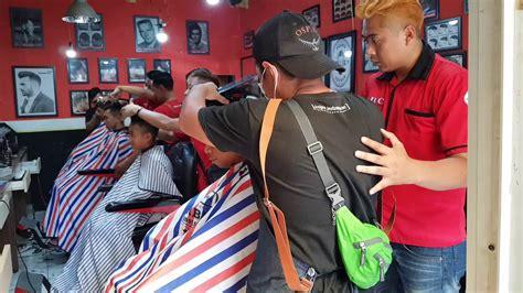 fixie barber  tempat kursus potong rambut terbaik