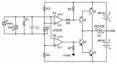 h bridge circuit bidirectional motor control circuit With simple dc motor speed controller using quad nor gate