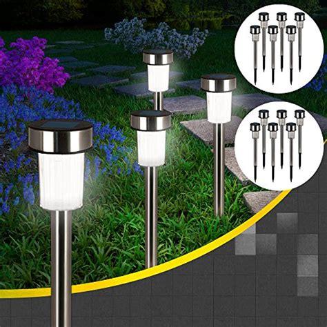 Solarleuchten Für Draußen by 4x Edelstahl Led Solarle Gartenbeleuchtung Outdoor Bunt