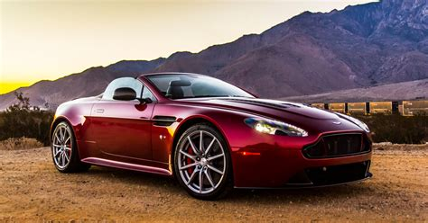 aston martin  vantage  roadster review palm springs usa