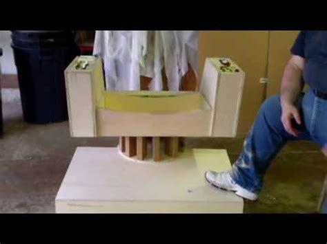 trek captains chair plans trek captain kirk s command chair build special