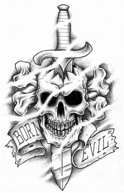 Skull Evil Tattoo Tattoos Demon Demons Designs