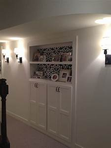 Basement Remodel - Adding more storage in a small space