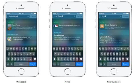 spotlight search iphone iphone 6 new features list that you must