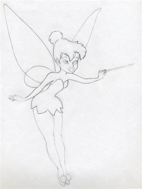draw tinkerbell   easy