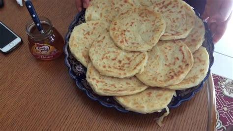 delice cuisine recette msemen autre façon de le faire un vrai délice