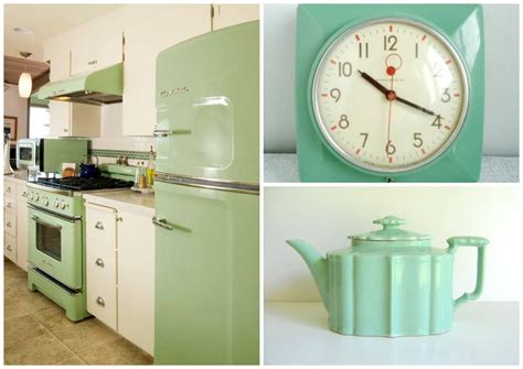 mint green kitchen appliances 15 essential design elements for a perfectly retro kitchen 7523
