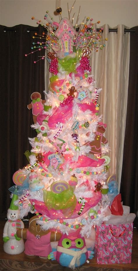 quot candyland quot inspired christmas tree believe in christmas