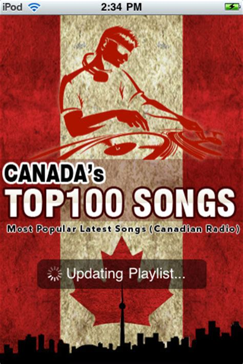 Canada day top 100 canadian songs of all time. Canada's Top 100 Songs & 100 Canadian Radio Stations