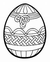 Coloring Easter Egg Pages Printable Adults Print sketch template