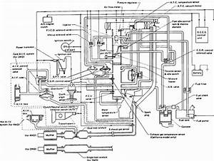 I Need A Vacuum Hose Diagram That U0026 39 S Easy To Read For A 1989 Nissan Pick Up Truck D21