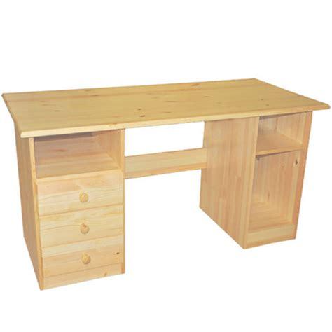 Schreibtisch Holz Natur by Wood Desk Popular Desks Rustic Organic Woodland