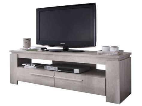 Meuble Tv Support Tv by Meuble Tv Brent Coloris Ch 234 Ne Cr 232 Me Vente De Meuble Et