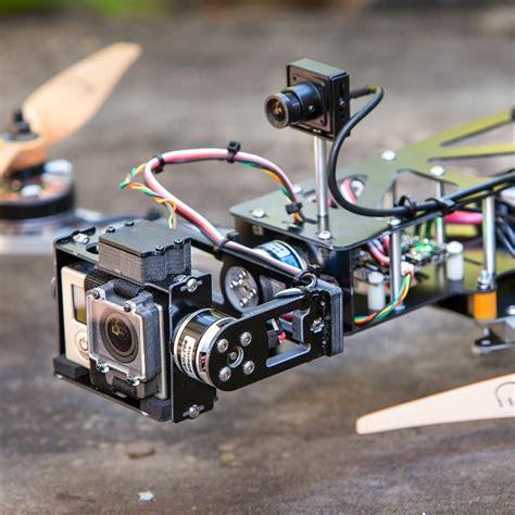 qavg brushless gimbal quad copter airframe drone