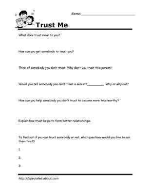 778 counseling worksheets printables on