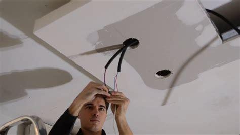 comment installer spot encastrable led plafond par le club led