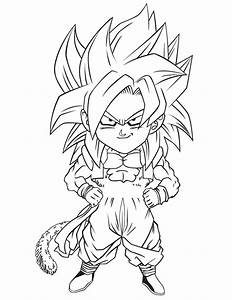 Free Coloring Pages Of Dbz Fusion