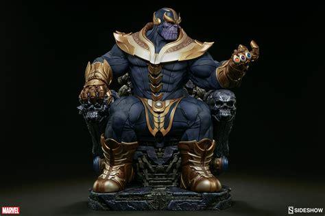 thanos  throne maquette