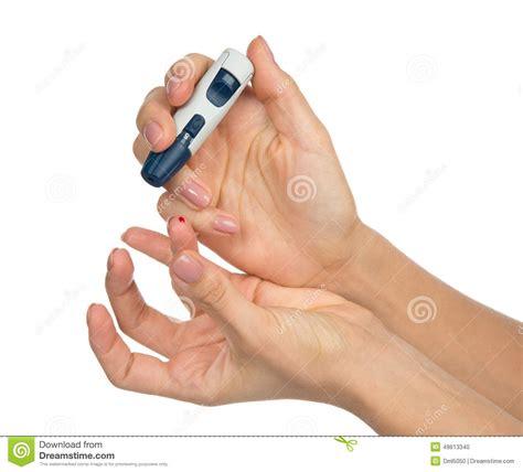 diabetes diabetic concept finger  glucose sugar measuri