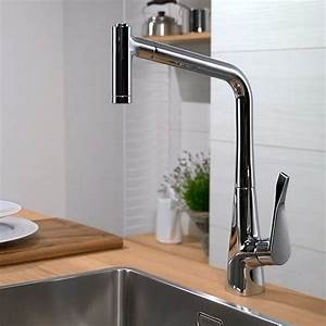 Hans Grohe Metris : hansgrohe metris select kitchen mixer 320 with pull out spout uk bathrooms ~ Orissabook.com Haus und Dekorationen