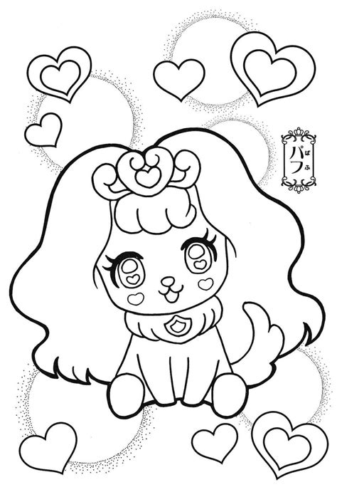 princess precure puff Cool coloring pages Cute