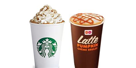 Pumpkin Latte Dunkin Donuts there is no right way to choose the best pumpkin flavored