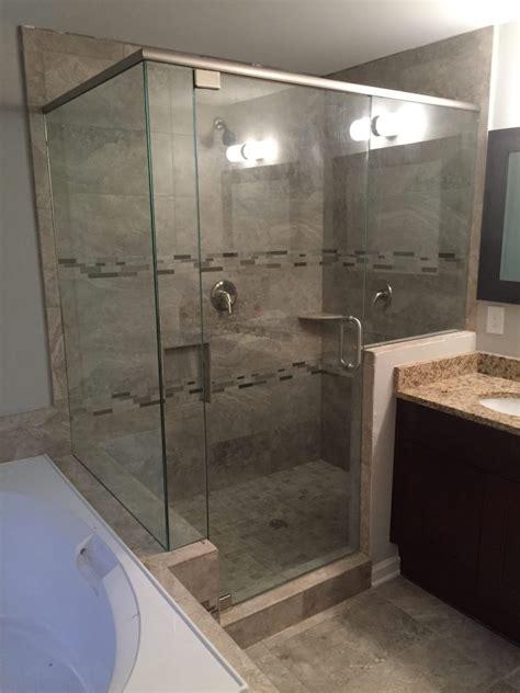 On Shower Frameless Showers With Header Frameless Shower Doors