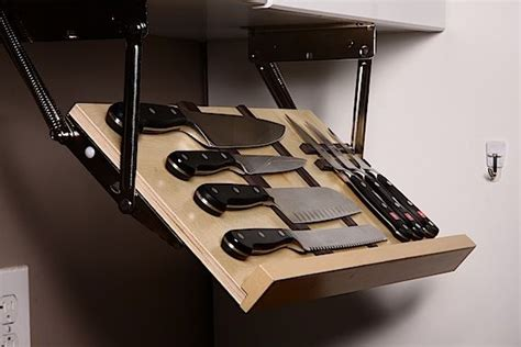 kitchen knife storage ideas top 15 most clever ideas to your knives 5291