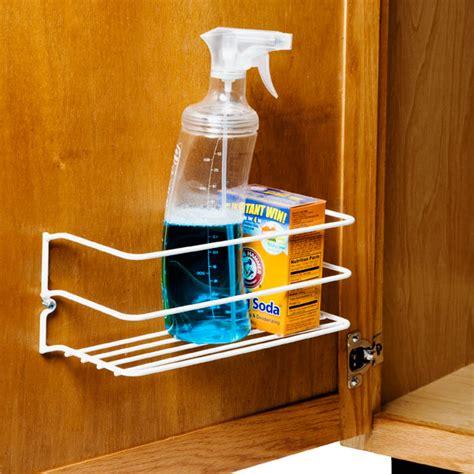 inside kitchen cabinet door storage cleanser rack the container 7531