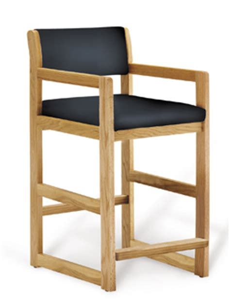 oak hip chair lozier store fixtures pharmacy shelving