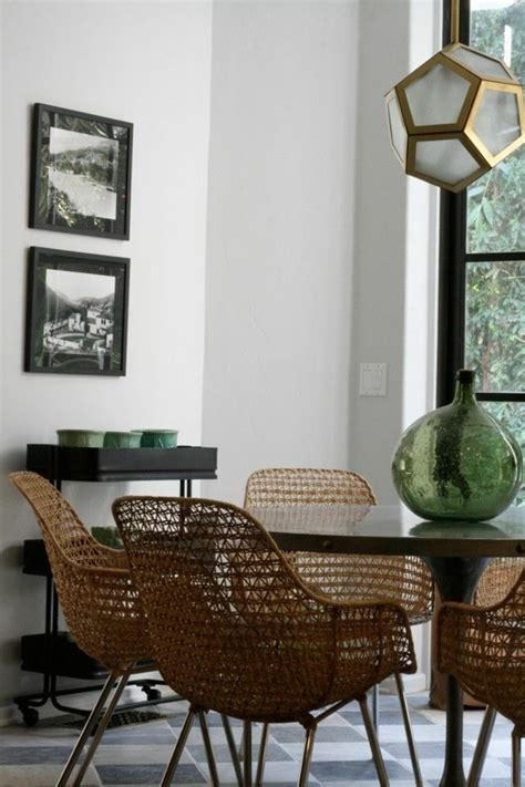 chaises tress es chaises tressees salle manger 7 idées de décoration