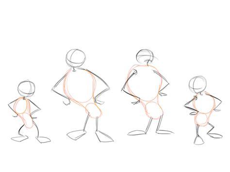 How To Draw A Cartoon Body
